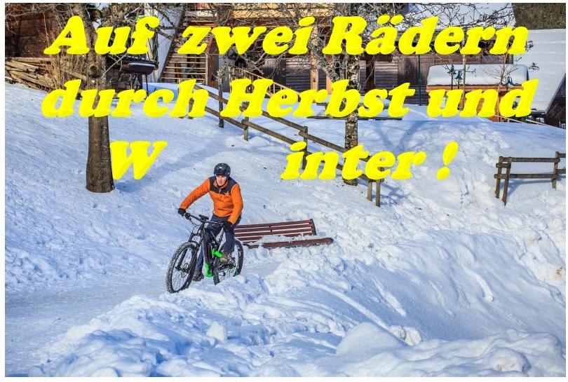 Radfahren in Herbst und Winter: Wie Radler und Rad
